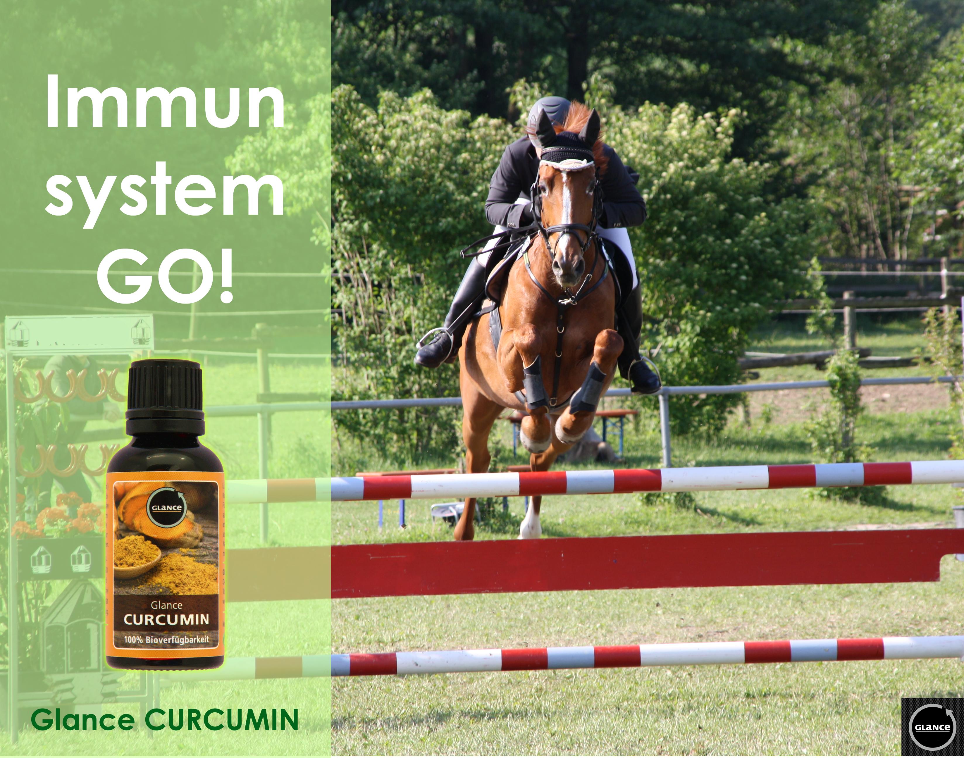 Werbebild Immunsystem Go - Glance Curcumin